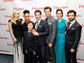 Happy opening to Broadway's Falsettos family: Betsy Wolfe, Tracie Thoms, Anthony Rosenthal, Christian Borle, Andrew Rannells, Stephanie J. Block and Brandon Uranowitz.