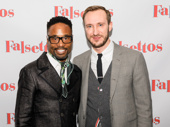 Tony winner Billy Porter and Broadway alum Adam Smith snap a pic.
