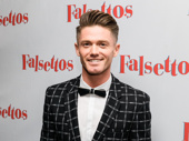 Falsettos choreographer Spencer Liff is all spiffed up for opening night.