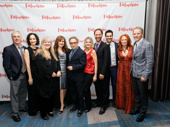 Members of Falsettos' original tight-knit family: Michael Rupert, Barbara Walsh, Heather MacRae, Janet Metz, Chip Zien, Alison Fraser, Jonathan Kaplan, Andrew Leeds, Carolee Carmello and Stephen Bogardus.