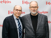 Falsettos' Tony-winning duo: director and scribe James Lapine and music mastermind William Finn.