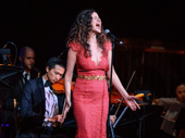 """Hamilton's eldest Schuyler Sister takes the stage! Mandy Gonzalez performs """"Satisfied"""" from Hamilton at the Dramatists Guild Gala."""