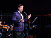Tony nominee Christopher Sieber always knows how to work a room. He debuted a song from Nell Benjamin and Tom Kitt's new musical Dave.