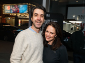 Composer, lyricist and playwright Jason Robert Brown and his wife and fellow composer Georgia Stitt get together.