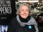 The Humans Tony winner Jayne Houdyshell spends her night off at the screening of Best Worst Thing That Ever Could Have Happened.