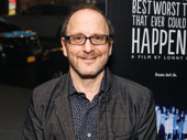 Best Worst Thing That Ever Could Have Happened director Lonny Price hits the red carpet. He originated the role of Charley Kringas in the Broadway production.