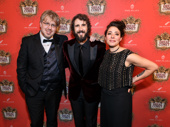 The Great Comet has landed on Broadway! Natasha, Pierre and the Great Comet of 1812 scribe Dave Malloy, star Josh Groban and director Rachel Chavkin.