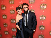 Fiddler on the Roof reunion! Fiddler on the Roof's Melanie Moore steps out to support Brandt Martinez, who is now in Natasha, Pierre and the Great Comet of 1812.