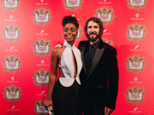 Congratulations to Denée Benton and Josh Groban on a happy opening and a luminous Broadway debut!