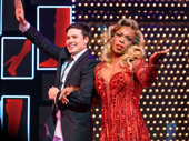 Happy 1,500 performances, Kinky Boots! Catch Aaron C. Finley and Todrick Hall strutting their stuff at the Al Hirschfeld Theatre.