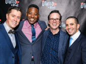 Othello: The Remix stars Jackson Doran, Postell Pringle, developer Rick Boynton and star and co-creator JQ get together.