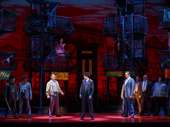 Broadway company of A Bronx Tale