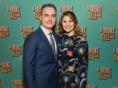 Stage fave and former Broadway.com vlogger Heidi Blickenstaff and her husband Nicholas Rohlfing spend a night out at A Bronx Tale.