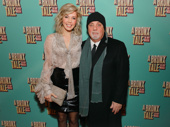 Music legend Billy Joel and his wife Alexis Roderick take a photo.