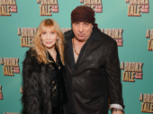 E Street Band member Steve Van Zandt and his wife Maureen attend the Great White Way opening of A Bronx Tale.