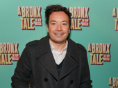 Late night king Jimmy Fallon steps out for the Broadway opening of A Bronx Tale.