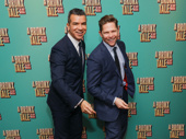 A Bronx Tale choreographer Sergio Trujillo and his husband Jack Noseworthy get dancey.