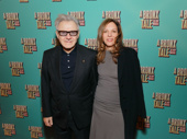 Taxi Driver star Harvey Keitel steps out with his wife Daphna to support Robert De Niro's opening night.
