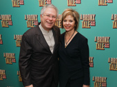 A Bronx Tale's composer Alan Menken and his wife Janis snap a pic.