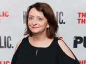 Funny girl Rachel Dratch hits the red carpet.