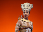 Chantel Riley as Nala in The Lion King.