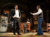 Brandon J. Dirden as Booster and John Douglas Thompson as Becker in Jitney.