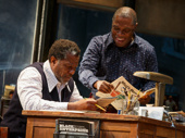 John Douglas Thompson as Becker and Michael Potts as Turnbo in Jitney.