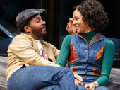 André Holland as Youngblood and Carra Patterson as Rena in Jitney.