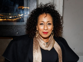 Tony Award-winning producer Tamara Tunie, who produced August Wilson's Radio Golf on Broadway, attends Jitney's opening night.