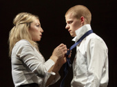 Ari Graynor and Lucas Hedges in Yen.