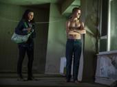Stefania LaVie Owen and Lucas Hedges in Yen.