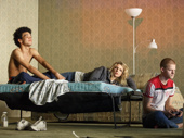 Justice Smith, Ari Graynor, and Lucas Hedges in Yen.