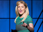 Taylor Louderman as Lauren in Kinky Boots.