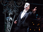 James Barbour as The Phantom in The Phantom of Opera.