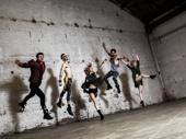 Choreographer Sam Pinkleton, Reed Luplau, Ani Taj, Brandt Martinez and Paloma Garcia-Lee