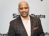 Jitney director Ruben Santiago-Hudson attends the off-Broadway opening of Everybody.