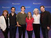 Anastasia's Caroline O'Connor, Ramin Karimloo, Derek Klena, Christy Altomare, Mary Beth Peil and John Bolton are ready for their Broadway bow.
