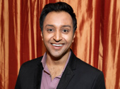 Present Laughter's Bhavesh Patel flashes a smile.