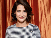 Cobie Smulders is all prettied up for her Broadway debut.