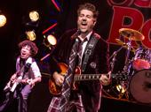 Brandon Niederauer as Zack and Eric Petersen as Dewey in School of Rock.