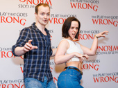 The Play That Goes Wrong's Greg Tannahill and Charlie Russell get silly.
