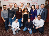 We can't wait to catch The Play That Goes Wrong at the Lyceum Theatre beginning on March 9! Producer J.J. Abrams, Greg Tannahill, Rob Falconer, Dave Hearn, Henry Shields, Bryony Corrigan, director Mark Bell, producer Kevin McCollum, Jonathan Sayer and Henry Lewis snap a pic.