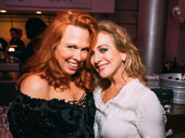Pretty women! Carolee Carmello, who will begin performances as Mrs. Lovett in April, snaps a sweet pic with current Mrs. Lovett Siobhán McCarthy.