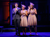 Gideon Glick as Jordan, Lindsay Mendez as Laura and Rebecca Naomi Jones as Vanessa in Significant Other.