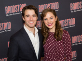 Stars Corey Cott and Laura Osnes pose for a sweet pic!
