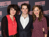 Tony winner Beth Leavel poses with co-stars Corey Cott and Laura Osnes.