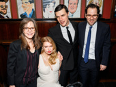 Director Sam Gold snaps a pic with Sally Field, Madison Ferris and Finn Wittrock. Catch this innovative revival of Tennessee Williams' classic memory play at the Belasco Theater.