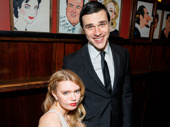 The Glass Menagerie's Madison Ferris and Finn Wittrock get together.