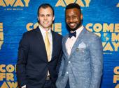 Come From Away players Tony LePage and Josh Breckenridge.