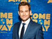 Come From Away's Chad Kimball looks dapper in a blue suit.